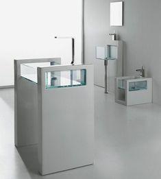 gsg glass bathroom suites 7 Glass Bathroom Suites   new Glass suite by Ceramica GSG