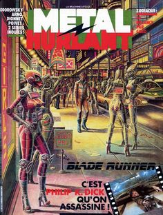 metal hurlant no.77.78.79.80.81.82 - 3 - 78 Cover