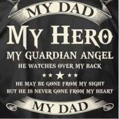 The best man I've ever known....I miss you Dad!