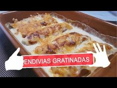 ENDIVIAS GRATINADAS - YouTube French Toast, Breakfast, Youtube, Food, Gratin, Recipes, Cook, Hands, Breakfast Cafe