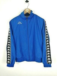 Kappa Tracksuit, Tracksuit Tops, Anorak Jacket, Vintage Men, Online Price, Adidas Jacket, Activewear, Tape, Windbreaker