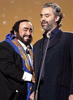 Pavarotti and Boccelli