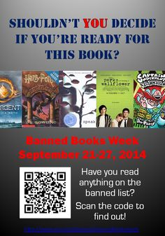Celebrate Banned Books Week and others with this LITERARY HOLIDAYS Research    Poster Project! Banning 933d9a9e19c1b