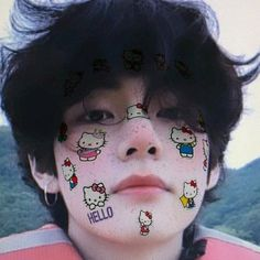 Bts Taehyung, Bts Selca, Foto Bts, Black Pink Jennie Kim, Sweet Boys, Kpop Anime, V Model, Hello Kitty, V Bts Cute