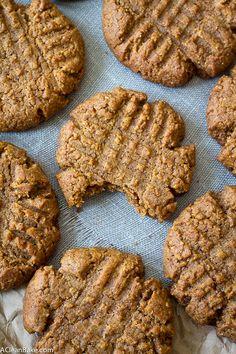 5-Ingredient Peanut Butter Cookies - GoodHousekeeping.com