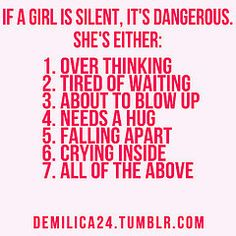 Very true! But just getting a hug and kiss on the forehead makes it all okay!