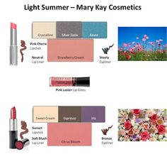 Mary Kay - Light Summer Looks #1 and #2 As a Mary Kay beauty consultant I can help you, please let me know what you would like or need. www.marykay.com/lrouse