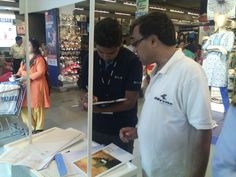 Hiland's Riverfront & Ganges Promotions - A customer inquiring about the project at Metropolis Mall, Kolkata.
