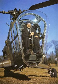 Aviation pioneer Igor Sikorsky at the controls of an helicopter that he and his company(Sikorsky Aircraft Corporation) designed. Military Helicopter, Military Aircraft, Igor Sikorsky, Image Avion, Photo Avion, Focke Wulf, Luftwaffe, Cool Stuff, Pictures