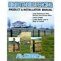 """Fi-shock INC 600-100 Hi-tensile Install Manual(pack of 25) by Fi-Shock. $3.75. It is written in laymen's terms.. It contains various fence designs for both electric and non-electric installations.. Product & insulation. """"FI-SHOCK INC"""" HI-TENSILE INSTALL MANUAL. Manual.. """"FI-SHOCK INC"""" HI-TENSILE INSTALL MANUAL   Manual.  Product & insulation  It is written in laymen's terms.  It contains various fence designs for both electric and non-electric installations.  Greater strength a..."""