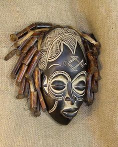 African Masks | African Masks - Rasta Mask 18 - Rasta People - from GenuineAfrica.com