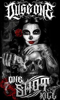 #Sugar skull #Dia De Los Muertos