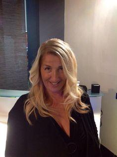 Degradè - blond hair