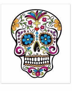tag para doces caveira mexicana para imprimir - Pesquisa Google