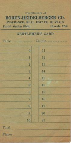 Gentlemen's Card Journal Pages, Junk Journal, Journal Ideas, Bullet Journal, Vintage Ephemera, Vintage Paper, Vintage Design, Vintage Images, George Nelson