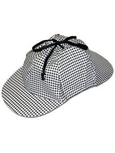 Lightweight Sherlock Holmes Hat - Hats-Occupational Halloween Costume for Hats/Wigs/Masks