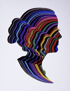 Elegant Multilayered Paper Silhouettes - My Modern Met