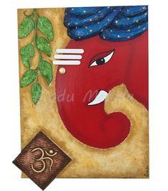 Ganesha Painting, Ganesha Art, Mural Art, Murals, Doodle Ideas, Drawing For Kids, Clay Jewelry, Sketchbooks, Festive
