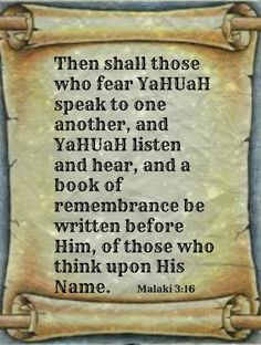 continue reading. VS17 And they shall be mine,saith Yahuah,in that day when I make up my jewels,& I will spare them,as a man spareth his own son that serveth him. VS18 Then shall ye return,& discern the righteous & the wicked,between him that serveth Yahuah & him that serveth him not.