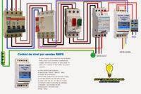 Esquemas eléctricos: Cuadro control de nivel