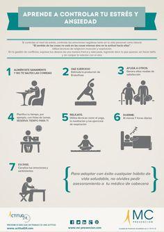 Aprende a controlar el estrés y la ansiedad  #salud #saludable #umayor