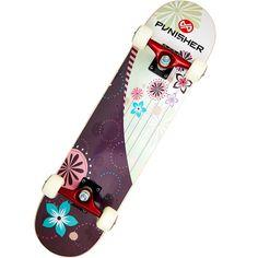 """Punisher Skateboards 31"""" ABEC-5 Complete Skateboard, Soul: Bikes & Riding Toys : Walmart.com"""