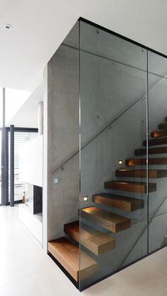Kragarm-Treppe