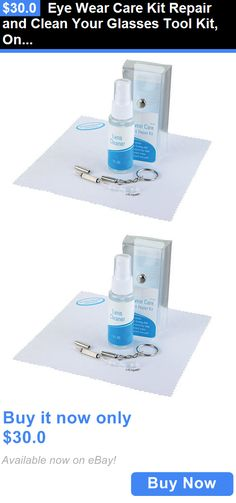 Eyeglass Cloths and Sprays: Eye Wear Care Kit Repair And Clean Your Glasses Tool Kit, Only 2.00 Each, BUY IT NOW ONLY: $30.0
