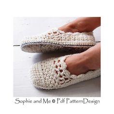 Ravelry: CROCHET SOLES + Sole-treatment - Tailored Method pattern by Ingunn Santini
