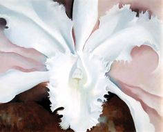 Maybe some Georgia O'Keefe for Fe's Apt. georgia-o-keeffe-white-flower Georgia O'keeffe, Alfred Stieglitz, Georgia O Keeffe Paintings, Art Moderne, Art Institute Of Chicago, Illustrations, American Artists, Santa Fe, New Mexico
