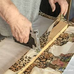 Learn how to make Roman shades (one of my favorite home decor sewing projects) with this step-by-step sewing tutorial with pictures. Find out how to measure your windows, how much fabric you will need and how to sew Roman Shades with or without dowels.