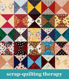 Scrap-quilting therapy