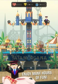 Enjoy many hours of fun in the beautiful world of Tivoli! Discover the beautiful graphics, switch and match while you earn voucher points that can be used in the Tivoli Puzzle voucher shop to redeem real products and experiences!     #casual  #tivoligardens #comingsoon #ios #iphone #appstore #freegame #puzzle #game #indie #play #tivoli #copenhagen #denmark #voucher