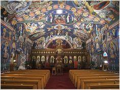 Holy Trinity Serbian Orthodox Church, Butte,Montana:USA