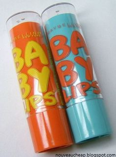 Maybelline Limited Edition Baby Lips Coral crush & twinkle LOVE!!! I'm obsessed with Baby Lips.... Twinkle is my fav