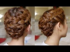 Hair Tutorial: Summer Braided Updo - YouTube
