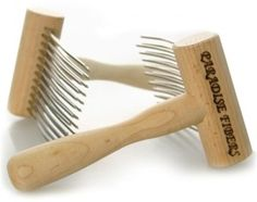 Working with Two Pitch aka Viking Combs!