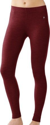SmartWool Midweight Long Underwear Bottoms - Wool - Women's snowboarding gear. If I ever find myself camping or living in cold climates again I'm springing for these.