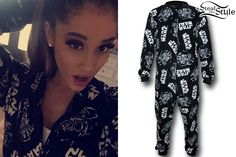 7ad5fd6d31 photo posted by Ariana Grande on instagram Lazy Day Outfits