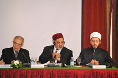 Fuad Nahdi with others at the Fez Summit