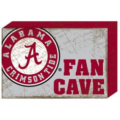 "Alabama Crimson Tide 14"" Wood Block"