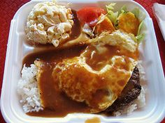 #locomoco #hawaiianfood Don't knock it til you try it! I love me some locomoco! @Amy Thornton Meade, betcha didn't know that about me eh?!