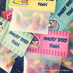 The Angry Birds Birthday Party