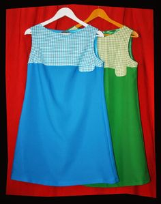 Sixties clothes Garageagogo : Vichy Duo