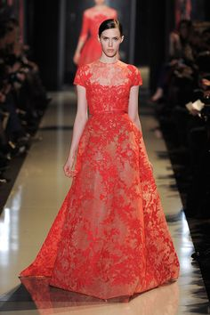 Elie Saab Spring, Summer Haute Couture 2013 - (Provocative Woman)