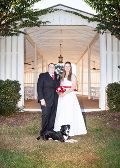 Grand Oaks know your pets are important that's why they can be a part of your special day. #wedding #petfriendly #dog #country #chapel #Florida #GrandOaksResort