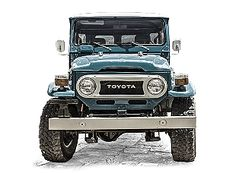 Toyota Land Cruiser FJ40 1978 Sky Blue..we might be getting one just like this!!!