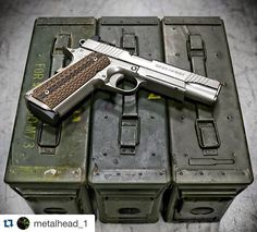 Nighthawk Custom Warhawk 1911. Loading that magazine is a pain! Excellent loader available for your handgun Get your Magazine speedloader today! http://www.amazon.com/shops/raeind