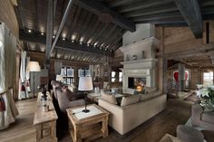 Kamine Landhaus Chalet Gemütlich On Andere Auch Luxurious Chalet Edelweiss  In Courchevel 1850 14 Related With