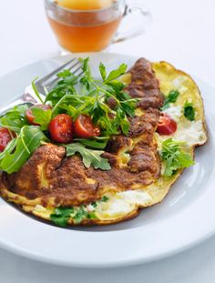 Lav en hurtig frokost med Lavkarbo-omeletten